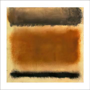 Untitled, 1958 of artist Mark Rothko as framed image