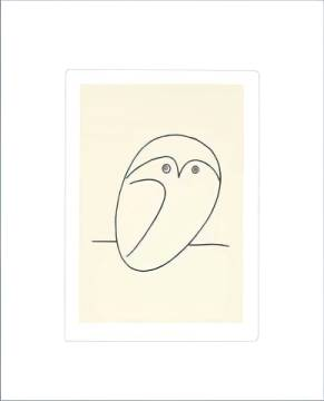 Art Print: Pablo Picasso, The Owl
