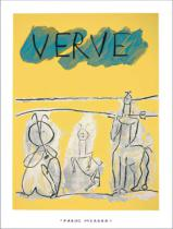 Pablo Picasso - Cover for Verve, 1951