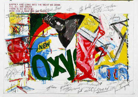 Graphic Art: James Rosenquist, 20-21 (One Cent Life)