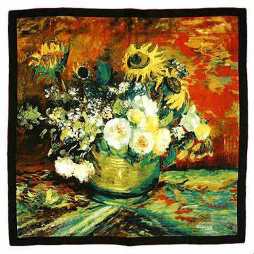 Vaso di Fiori of artist Vincent van Gogh as framed image