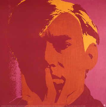 andy warhol self portrait 1966 kunstdruck poster. Black Bedroom Furniture Sets. Home Design Ideas