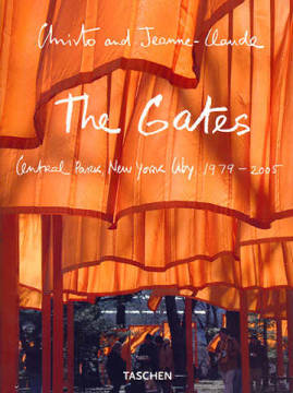 The Gates, Central Park, New York 1979-2005 (Buch) of artist Christo und Jeanne-Claude as framed image