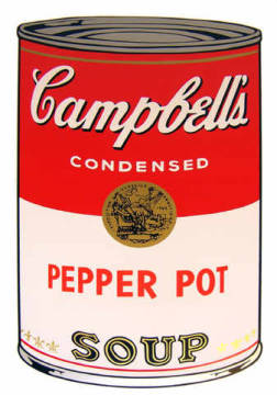 Grafik: Andy Warhol, Campbell's Soup - Pepper Pot