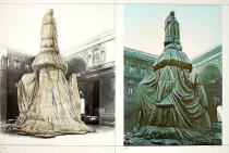 Christo und Jeanne-Claude - Wrapped Monument Leonardo