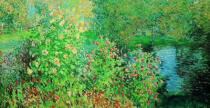 Claude Monet - Le Jardin