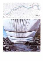 Christo und Jeanne-Claude - Over the River II Underneath