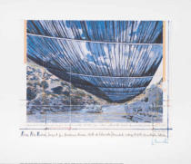 Christo und Jeanne-Claude - Over the River V 1999