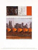 Christo und Jeanne-Claude - The Gates XXV - Project for Central Park