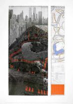 Christo und Jeanne-Claude - The Gates XXXVII