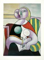 Pablo Picasso - La Lecture (Woman Reading)