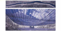 Christo und Jeanne-Claude - Over The River VIII, Project for Arkansas River