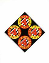 Robert Indiana - The Beware-Danger Am. Dream 3