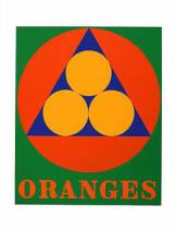Robert Indiana - Oranges