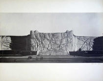 Christo und Jeanne-Claude - Project for Galleria  Rome, Monuments