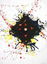 Sam Francis - Untitled, gerahmt