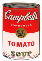 Andy Warhol - Campbell's Soup - Tomato