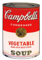 Andy Warhol - Campbell's Soup - Vegetable