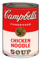 Andy Warhol - Campbell's Soup - Chicken Noodle