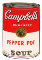 Andy Warhol - Campbell's Soup - Pepper Pot