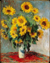 Claude Monet - Sunflowers
