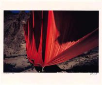 Christo und Jeanne-Claude - Valley Curtain (1972)