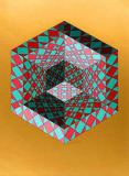 Bi-Sanction von Victor Vasarely