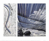 Christo und Jeanne-Claude - Over The River X, Project for Arkansas River