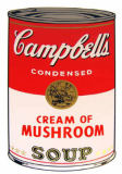 Andy Warhol - Campbell's Soup - Cream of Mushroom