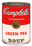 Andy Warhol - Campbell's Soup - Green Pea