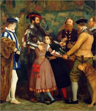 Kunstdruck: Sir John Everett Millais, The Ransom, 1860-62