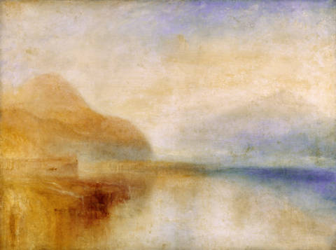 Kunstdruck, individuelle Kunstkarte: Joseph Mallord William Turner, Inverary Pier, Loch Fyne, Morning, c.1840-50