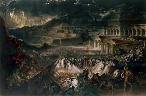 Kunstdruck: John Martin, The Fall of Nineveh
