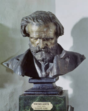 Fine Art Reproduction: Vincenzo Gemito, Bust of Guiseppe Verdi (1813-1901)