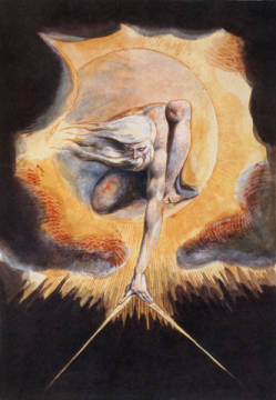 William Blake The Ancient Of Days From Europe A Prophecy 1793 Fine Art Reproduction Individual Art Card