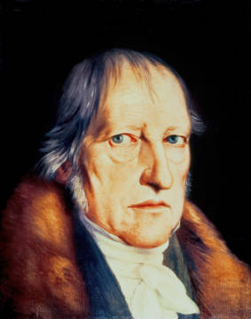 Fine Art Reproduction, individual art card: Jacob Schlesinger, Portrait of Georg Wilhelm Friedrich Hegel (1770-1831), 1825