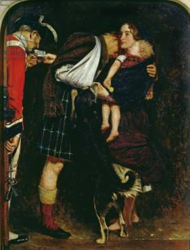 Kunstdruck: Sir John Everett Millais, The Order of Release, 1853