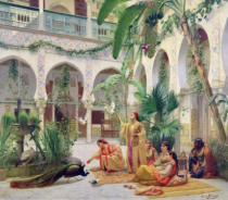 Albert Girard - The Court of the Harem
