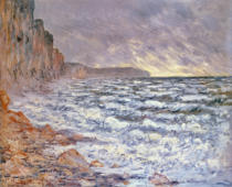 Claude Monet - The Sea at Fecamp, 1881