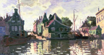 Claude Monet - Zaandam