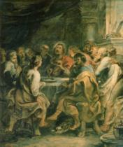 Peter Paul Rubens - The Last Supper, c.1630-31