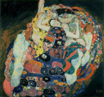 Gustav Klimt - The Maiden, 1913