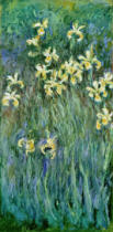 Claude Monet - The Yellow Irises