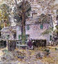Childe Frederick Hassam - Indian Summer in Colonial Days, 1899