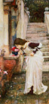 John William Waterhouse - The Shrine