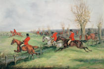 Henry Thomas Alken - Sporting Scene, 19th century
