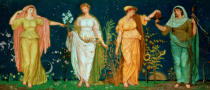 Walter Crane - The Seasons