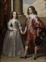 Anthonis van Dyck - William II, Prince of Orange, and his Bride, Mary Stuart, 1641