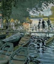 Claude Monet - Bathers at La Grenouillere, 1869