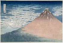 Katsushika Hokusai - South Wind, Clear Dawn, from the series '36 Views of Mount Fuji', c.1830-1831